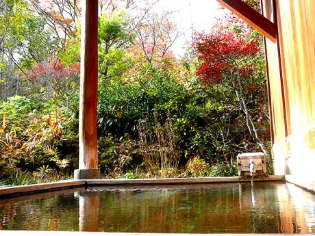 山の宿『たちばな家』露天風呂